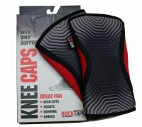 RockTape Knee Caps 5mm Medium - Red