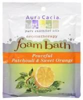 Oils - Aromatherapy & Essential Oils - Aura Cacia - Aura Cacia Aromatherapy Foam Bath 2.5 oz- Patchouli/Orange