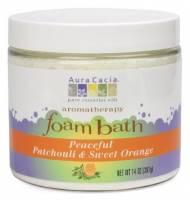 Oils - Aromatherapy & Essential Oils - Aura Cacia - Aura Cacia Aromatherapy Foam Bath 14 oz- Patchouli/Orange