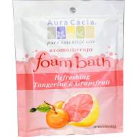 Aura Cacia - Aura Cacia Aromatherapy Foam Bath 2.5 oz- Tangerine/Grapefruit