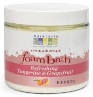 Oils - Aromatherapy & Essential Oils - Aura Cacia - Aura Cacia Aromatherapy Foam Bath 14 oz- Tangerine/Grapefruit