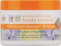 Oils - Aromatherapy & Essential Oils - Aura Cacia - Aura Cacia Body Cream 8 oz -Patchouli Sweet Orange
