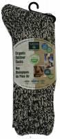 Clothing - Socks - Earth Therapeutics - Earth Therapeutics Men's Outdoor Crew Socks - Brown/Beige