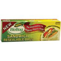 Home Products - Bags, Pouches & Boxes - BioBag - BioBag Resealable Sandwich Bags