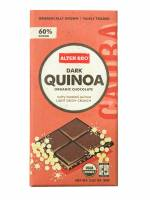 Grocery - Cookies & Sweets - Alter Eco - Alter Eco Alter Eco Organic Chocolate Dark Quinoa 2.82 oz (4 Pack)