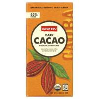 Grocery - Cookies & Sweets - Alter Eco - Alter Eco Alter Eco Organic Dark Cacao 63% 2.82 oz (4 Pack)