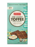 Grocery - Cookies & Sweets - Alter Eco - Alter Eco Alter Eco Organic Dark Chocolate Coconut Toffee 2.82 oz (4 Pack)