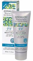 Andalou Naturals Beauty Balm Clarifying Oil Control Un-Tinted SPF 30