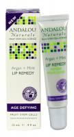 Health & Beauty - Lip Care - Andalou Naturals - Andalou Naturals Lip Remedy Argan Plus Mint