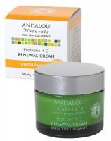 Skin Care - Creams - Andalou Naturals - Andalou Naturals Renewal Cream Probiotic+C