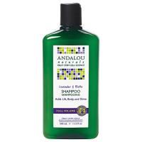 Health & Beauty - Hair Care - Andalou Naturals - Andalou Naturals Lavender and Biotin Full Volume Shampoo