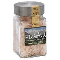 Kitchen - Salt & Pepper Shakers - Himalania - Himalania Coarse Pink Salt with Glass Jar & Grater 9 oz (6 Pack)