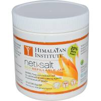 Health & Beauty - Nasal Care - Himalayan Institute Press - Himalayan Institute Press Neti Pot Salt Jar 12 oz