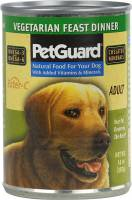 Pet - Food & Treats - Petguard - Petguard Vegetarian Feast Dinner Dog Food 14 oz