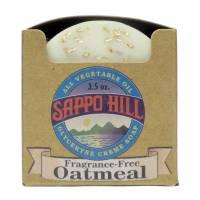 Non-GMO - Health & Personal Care - Sappo Hill Soapworks - Sappo Hill Soapworks Fragrance Free Oatmeal Crme Soap