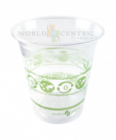 Recycled & Biodegradable - Recycled Paper - World Centric - World Centric 9 oz Tall Cold Clear Cup 50 ct