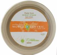 Recycled & Biodegradable - Recycled Paper - World Centric - World Centric Fiber Plates 9 in. 50 ct