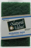 Home Products - Bags, Pouches & Boxes - Natural Value - Natural Value Scouring Pads 2 ct (24 Pack)