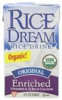 Grocery - Beverages - Rice Dream - Rice Dream Organic Enriched Beverage 8 oz - Original (24 Pack)