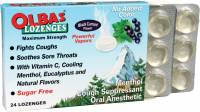 Health & Beauty - Cough Syrup & Lozenges - Olbas - Olbas Black Currant Lozenges 24 ct