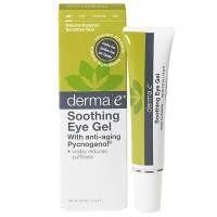 Skin Care - Eye Care - Derma E - Derma E Soothing Eye Gel with Anti-Aging Pycnogenol 0.5 oz