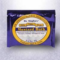 Ayurvedic - Health & Beauty - Dr Singha's - Dr Singha's Mustard Bath Packets in Box 28 pc