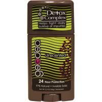 Health & Beauty - Deodorants - Geodeo - Geodeo Natural Deodorant Stick Unscented 2.3 oz