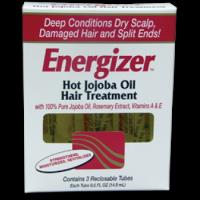 Hobe Labs Energizer Hot Jojoba Oil Hair Treatment 3 vial