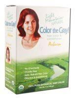 Hair Care - Hair Color - Light Mountain Henna - Light Mountain Henna Color The Gray Brown-Dark 7 oz