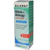 Homeopathy - Allergies & Sinus - Natra-Bio/Botanical Labs - Natra-Bio/Botanical Labs bioAllers Allergy/Sinus Nasal Spray 0.8 oz