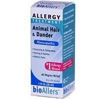 Homeopathy - Allergies & Sinus - Natra-Bio/Botanical Labs - Natra-Bio/Botanical Labs bioAllers Animal Hair/Dander Allergy Relief 1 oz