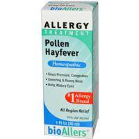 Homeopathy - Allergies & Sinus - Natra-Bio/Botanical Labs - Natra-Bio/Botanical Labs bioAllers Pollen/Hayfever Relief 1 oz