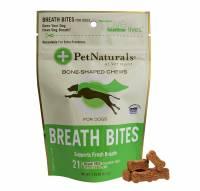 Pet - Food & Treats - Pet Naturals Of Vermont - Pet Naturals Of Vermont Breath Bites for Dogs 21 pc