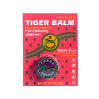 Health & Beauty - Massage & Muscle Tension - Tiger Balm - Tiger Balm Red 0.14 oz