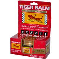 Health & Beauty - Massage & Muscle Tension - Tiger Balm - Tiger Balm Red X-tra Strength 0.63 oz