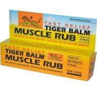Health & Beauty - Massage & Muscle Tension - Tiger Balm - Tiger Balm Tiger Muscle Rub 2 oz