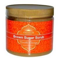 Sunshine Products Group - Sunshine Products Group Brown Sugar Scrub Vanilla Orange 16 oz