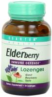 Health & Beauty - Cough Syrup & Lozenges - Quantum - Quantum Cold Season Elderberry+ Lozenges 36 loz