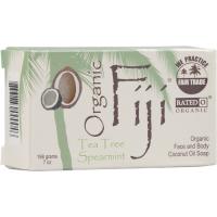 Organic Fiji - Organic Fiji Organic Tea Tree Spearmint Bar Soap 240 gm