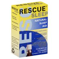 Specialty Sections - Gluten Free - Bach Flower Essences - Bach Flower Essences Rescue Sleep 7 ml