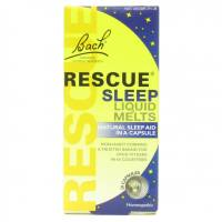 Specialty Sections - Gluten Free - Bach Flower Essences - Bach Flower Essences Rescue Sleep Liquid Melts 28 capsule