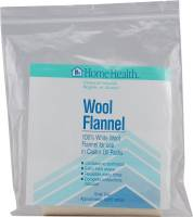 Skin Care - Facial Towelettes - Home Health - Home Health Wool Flannel 1 unit