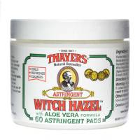 Skin Care - Facial Towelettes - Thayers - Thayers Witch Hazel Pads 60 pad