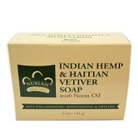 Nubian Heritage Bar Soap Indian Hemp & Haitian Vetiver 5 oz