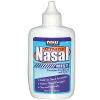 Health & Beauty - Nasal Care - Now Foods - Now Foods Nasal Mist Activated 2 fl oz