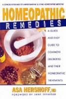 Books - Homeopathy - Books - Homeopathic Remedies - Asa Hersoff