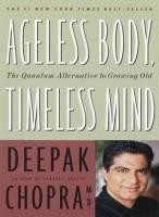 Books - Health & Wellness - Books - Ageless Body Timeless Mind - Deepak Chopra