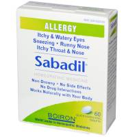 Homeopathy - Boiron - Boiron Sabadil 60 Tablets