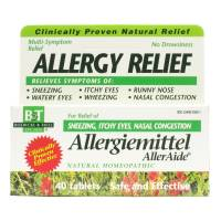 Homeopathy - Boericke & Tafel - Boericke & Tafel Allergiemittel AllerAide 40 tab