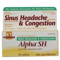 Homeopathy - Boericke & Tafel - Boericke & Tafel Alpha SH Sinus Headache 40 tab